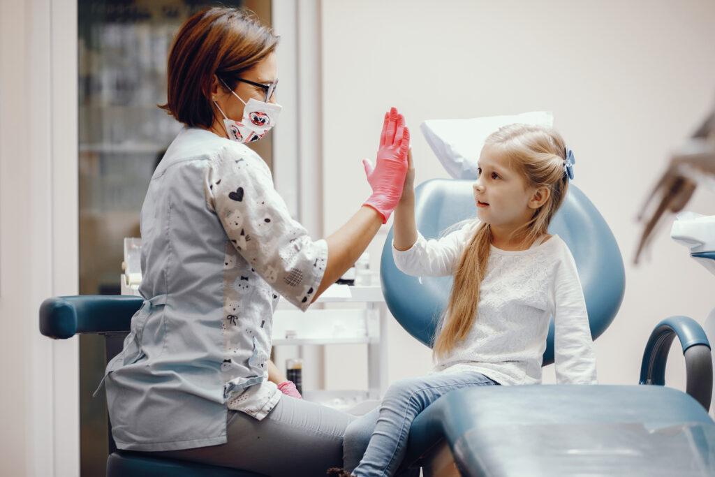 dijete nema strah od zubara